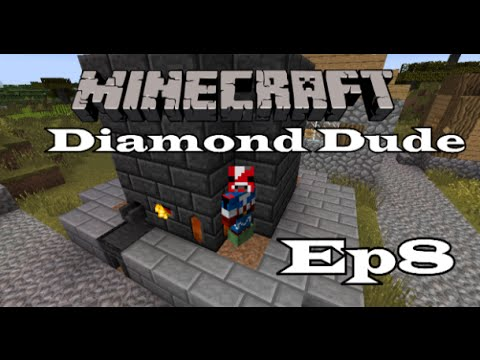 minecraft diamond dude ep8 expensive modded minecraft youtube. Black Bedroom Furniture Sets. Home Design Ideas