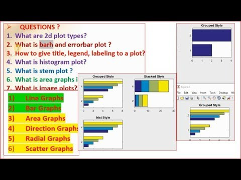 barh stacked graphs in matlab? Features & properties   [Lecture-18/part-3/section-A]