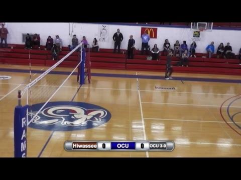 LIVE STREAM: Volleyball: Hiwassee Vs. Oakland City: 12:00 PM