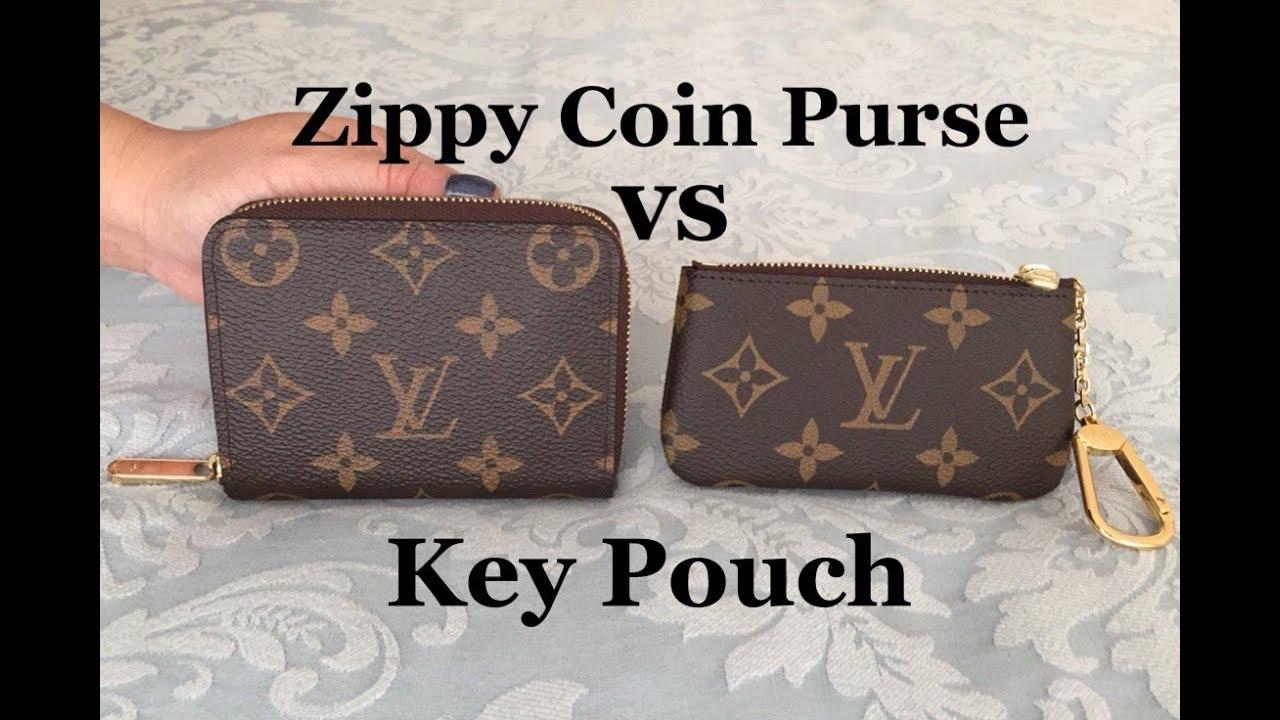 b57f7de2253 LV Zippy Coin Purse Vs Key Cles / Pouch | What Fits | Louis Vuitto | #63