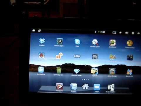 Android Tablet Yarvik 410 Software