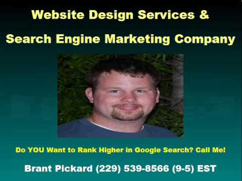 Corporate Website Design Valdosta Ga - Brant Pickard (229) 539-8566 Corporate Web Designs