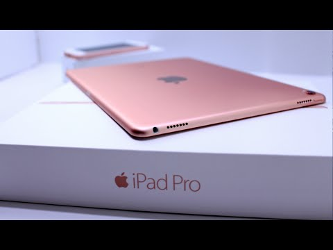 ipad pro 9 7 rose gold unboxing youtube. Black Bedroom Furniture Sets. Home Design Ideas