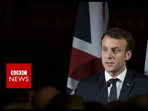 FULL INTERVIEW: French President Emmanuel Macron on Brexit and Trump – BBC News
