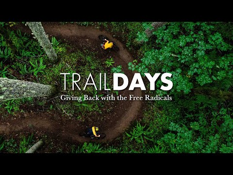 Trail Days // Giving Back With The Free Radicals