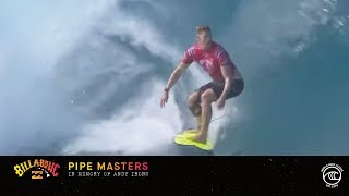 Florence vs. Buchan vs. Mendes - Seeding Round, Heat 8 - Billabong Pipe Masters 2019