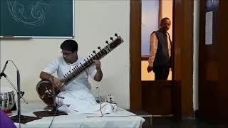 Sitar Recital by Anjan Saha...Hindole Majumdar on Tabla...Raag : Charukeshi