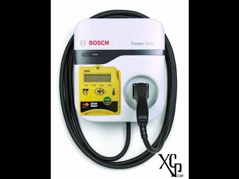 Bosch EV Electric Car Charger Vending Level-2 Payment Station