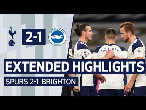 EXTENDED HIGHLIGHTS | SPURS 2-1 BRIGHTON