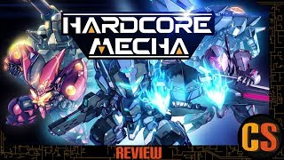 HARDCORE MECHA - PS4 REVIEW (Video Game Video Review)