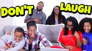 Try Not To LAUGH Challenge! - Onyx Family Vlog