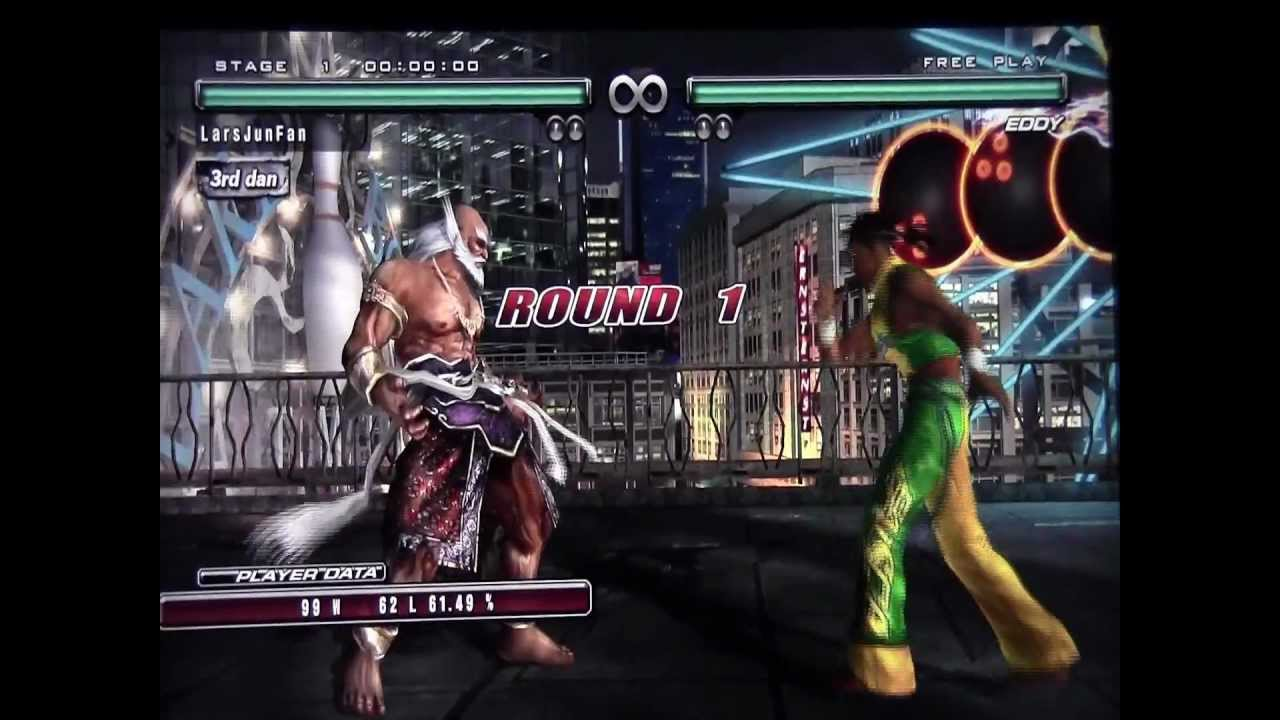 Tekken 5 DR (PS3) Play as Jinpachi (All 3 Forms) - YouTube