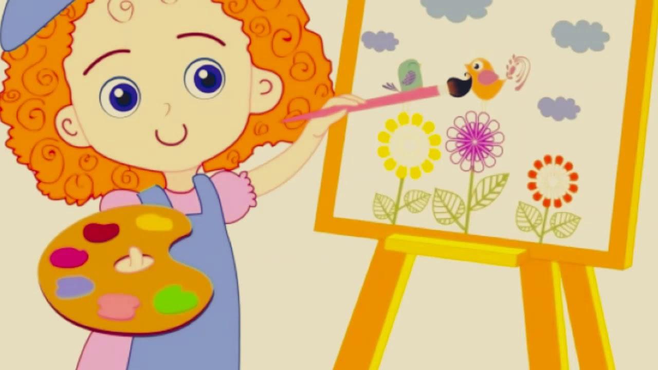 art class clip art - 1280×720