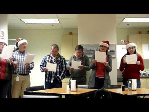 2011 ESM Karaoke Caroling -- Team ASU