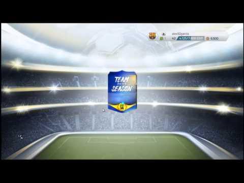 FIFA 14 | Pack Opening Sobres TOTS | Reacción Epica al encontrar un TOTS