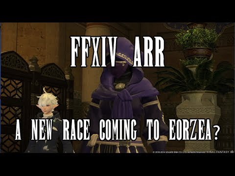 FFXIV ARR A New Race Coming to Eorzea?