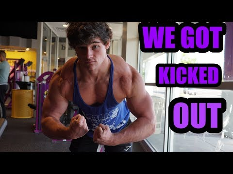 GETTING KICKED OUT OF PLANET FITNESS
