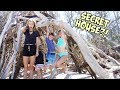 WE FIND A SECRET HUT ON THE BEACH!! WHO LIVES THERE?! / SmellyBellyTV