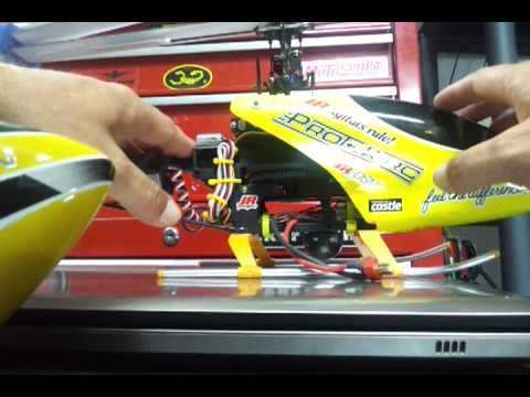 Align 450 Canopy on a Blade 400 or 450 & Align 450 Canopy on a Blade 400 or 450 - YouTube