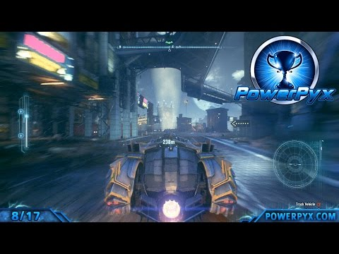Batman Arkham Knight - A Leap of Faith Trophy / Achievement Guide (8 Jumps over 100 Meters)