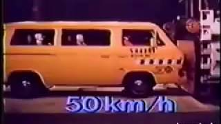 Crash Test VW T3 and VW LT