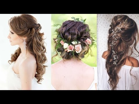 Bridal Hairstyle Tutorial And Easy Wedding Hairstyles 2017 2018
