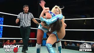 Kylie Rae vs Raychell Rose Women's Wrestling Ladies Night Out 6
