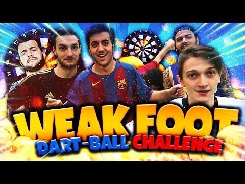WEAK FOOT MELAGOODO DART-BALL CHALLENGE