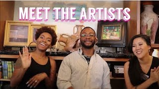 AN INTERVIEW WITH THE ARTISTS [Ep. 1]| Black artist show