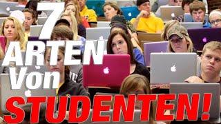 7 ARTEN VON STUDENTEN!