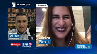 La asambleísta Cristina Reyes analiza la coyuntura nacional