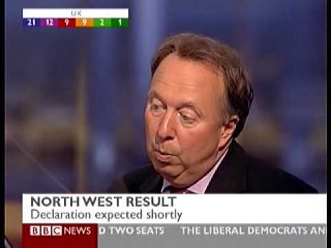 Share of Vote in north West in euro elections BNP to win MEP seat
