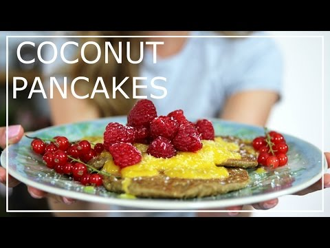Eat Smart Coconut Pancakes Recipe