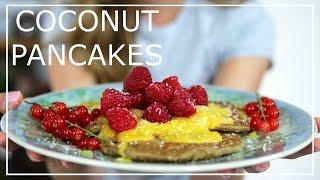 Eat Smart Coconut Pancakes Recipe