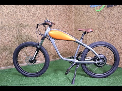 Vintage Cafe Racer Electric Bike Launch 2017 INTERBIKE