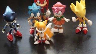 ???? Игрушки Супер Соник Обзор / Sonic Hedgehog Figure and Deadpool Unboxing and Movie