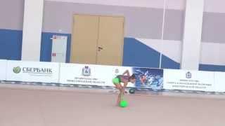 Сухановская Алиса мяч 4 5 марта 2015(, 2015-03-12T10:52:43.000Z)