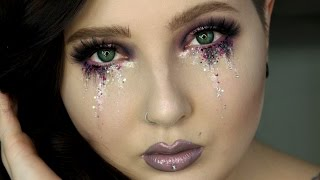 glitter makeup tutorial