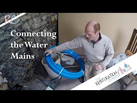 Installing And Connecting New Water Mains - DIY