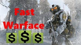 Warface: How to make fast Warface Dollars!