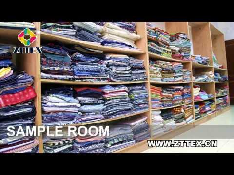 ZTTEX fabric manufacturer china factory, cotton rayon TC linen fat quarter supplier