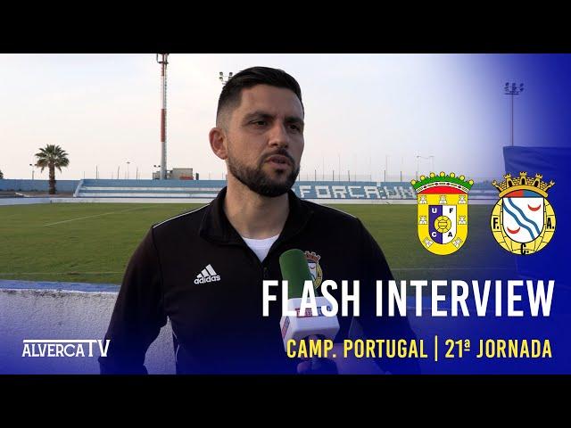 U. Almeirim 1 - 2 FC Alverca | Flash Interview