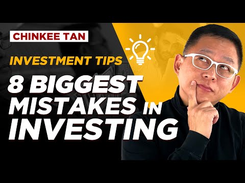 8 BIGGEST MISTAKES IN INVESTING