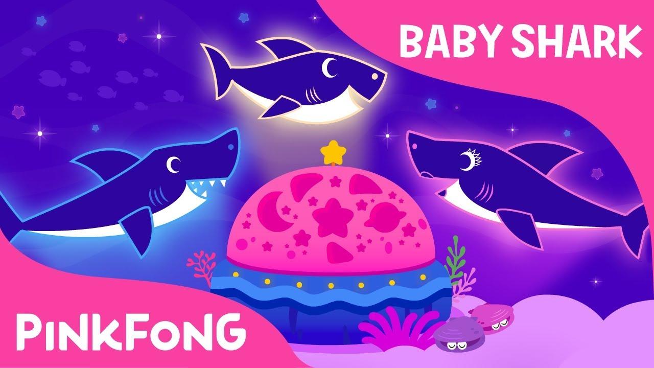 Baby Shark Dream Light | Music Box | Lullaby | Baby Shark ...