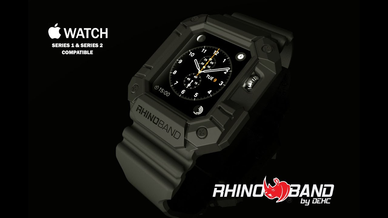 Rhino Band For Apple Watch Protection Youtube