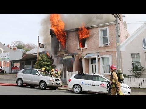 house  fire 2016 Dunedin Carroll