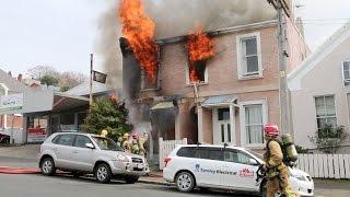 HOUSE FIRE!!.. 2016 Dunedin Carroll