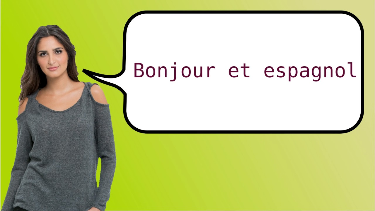 How To Say Good Morning In French And Spanish Youtube