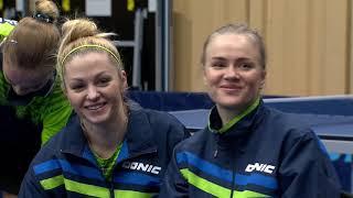 Настольный теннис. Чемпионат Европы 2019. Квалификация. Женщины. Украина - Польша. Пряма трансляция
