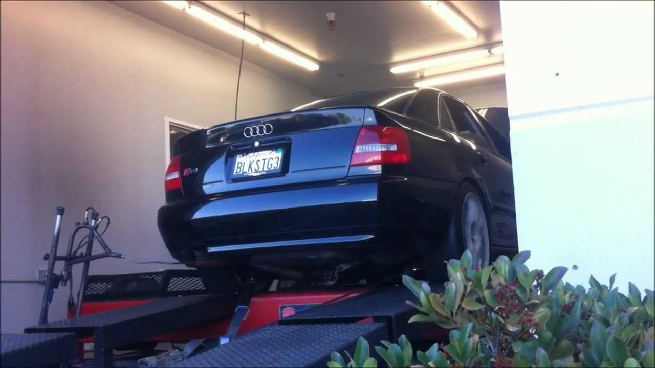 034Motorsport B5 Audi S4 2.7T Single Turbo Kit Dyno Teaser ...